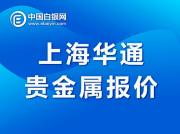 上海华通贵金属报价(2021-1-22)